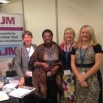 (L-R): Rebecca Smyth, Dr. Christina Rawdon, Carol Bedwell & Prof. Dame Tina Lavender